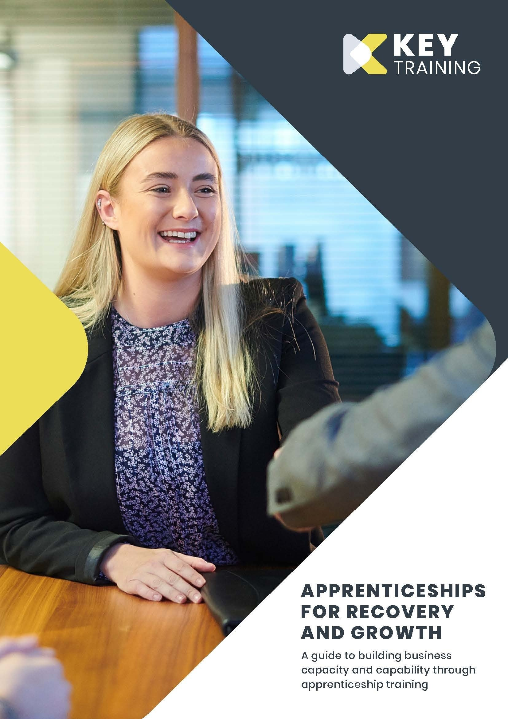 Key Apprenticeships for recovery and growth guide cover