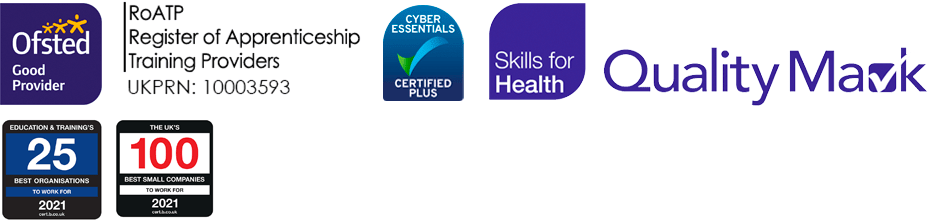 Ofsted, Quality Mark, and other quality logos